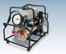 Пневматический гидравлический агрегат  IQ-VAX 2-P-Z